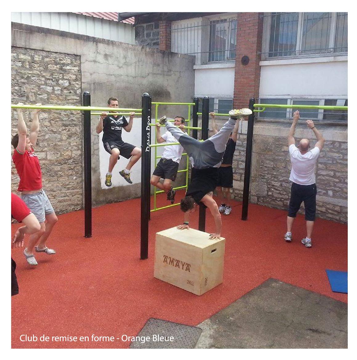freetness, fitness plein air !